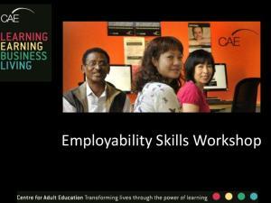 Employability Skills Workshop