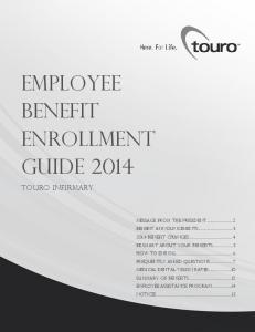 Employee Benefit Enrollment Guide 2014