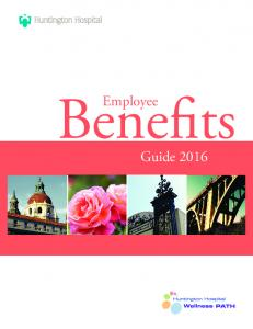 Employee Benefits Guide 2016 G