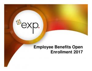 Employee Benefits Open Enrollment 2017