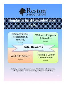 Employee Total Rewards Guide 2015