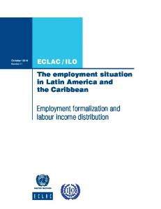 Employment formalization and labour income distribution
