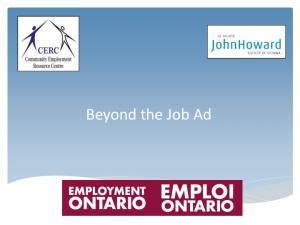 Employment Ontario Service Providers: