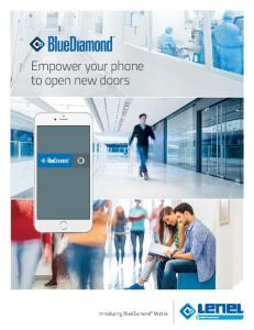 Empower your phone to open new doors