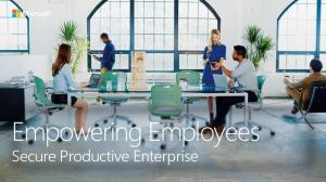 Empowering Employees. Secure Productive Enterprise