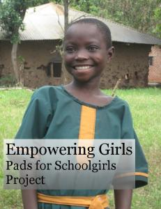 Empowering Girls Pads for Schoolgirls Project