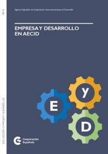EMPRESA Y DESARROLLO EN AECID