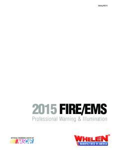 EMS. Professional Warning & Illumination