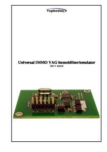 emulator User s manual