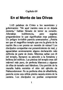 En el Monte de las Olivas