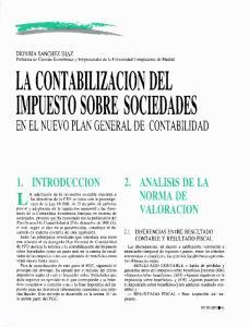 EN EL NUEVO PLAN GENERAL DE CONTABILIDAD