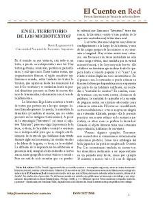 EN EL TERRITORIO DE LOS MICROTEXTOS 1