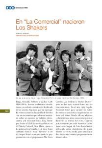 En La Comercial nacieron Los Shakers