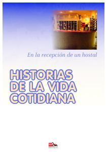 En la recepción de un hostal HISTORIAS DE LA VIDA COTIDIANA