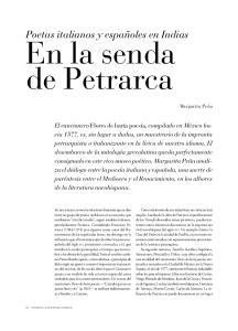 En la senda de Petrarca