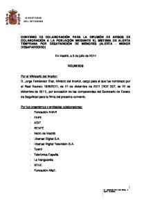 En Madrid, a 3 de julio de 2014 REUNIDOS