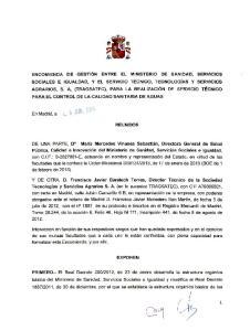 En Madrid, a REUNIDOS. DE UNA PARTE, D a