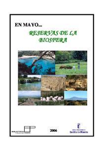 EN MAYO... RESERVAS DE LA BIOSFERA