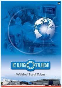 EN Welded Steel Tubes
