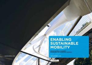enabling sustainable mobility infrastructure & transport