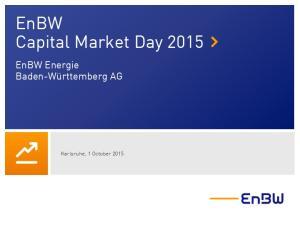 EnBW Capital Market Day 2015