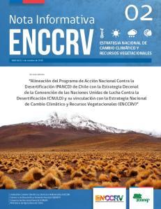 ENCCRV. Nota Informativa 02