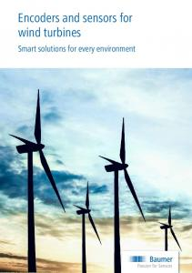 Encoders and sensors for wind turbines. Smart solutions for every environment
