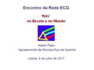 Encontro da Rede ECG