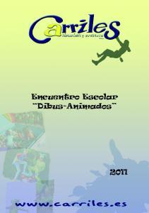 Encuentro Escolar Dibus-Animados