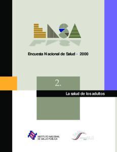 Encuesta Nacional de Salud 2000