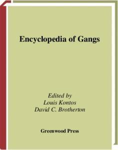 Encyclopedia of Gangs
