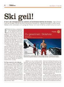 Endlich! Die Schweiz wedelt und carvt. Skilehrer
