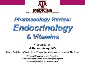 Endocrinology & Vitamins