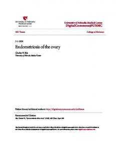 Endometriosis of the ovary