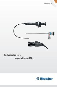 Endoscopios para especialistas-orl