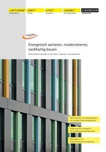 Energetisch sanieren, modernisieren, nachhaltig bauen