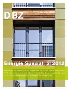 Energie Spezial