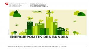ENERGIEPOLITIK DES BUNDES