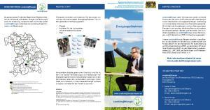 Energiespaßnahmen. Mehr Informationen finden Sie unter  MACHEN SIE MIT! ANSPRECHPARTNER
