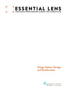 Energy: Capture, Storage, and Transformation