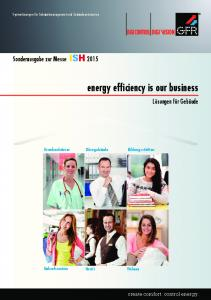 energy efficiency is our business