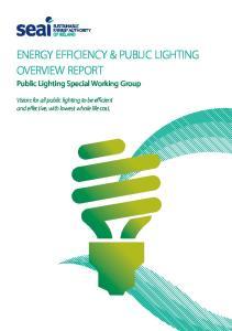 Energy Efficiency & Public Lighting