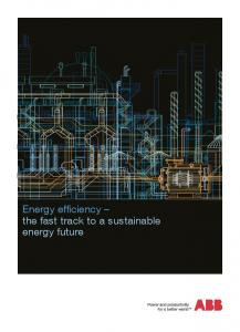 Energy efficiency the fast track to a sustainable energy future