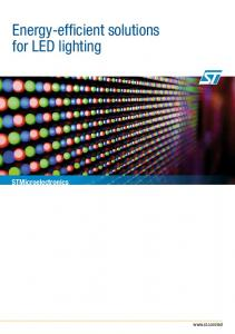 Energy-efficient solutions for LED lighting