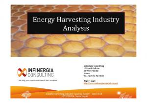 Energy Harvesting Industry Analysis