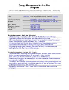 Energy Management Action Plan Template