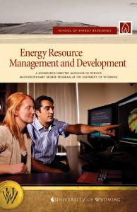 Energy Resource Management and Development