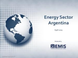Energy Sector Argentina