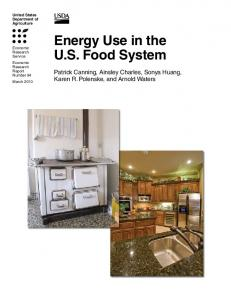 Energy Use in the U.S. Food System