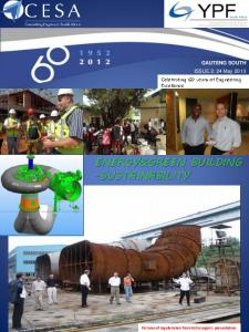 ENERGY&GREEN BUILDING -SUSTAINABILITY